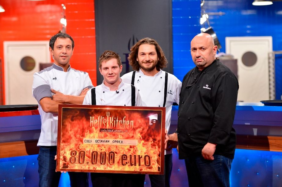 Tavi Oprea Hells Kitchen