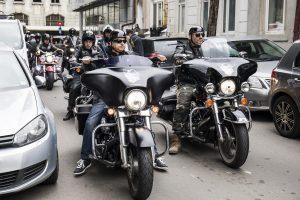 Si motocicliștii cu sânge de rocker s-au alăturat campaniei Foto credit Alma Ghiulea