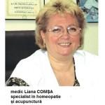 specialist homeopat Liana Comsa
