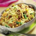 Spaghete cu carne de vită