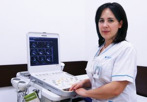 Dr. Alexandra Postu, medic primar cardiolog Centrele ARES
