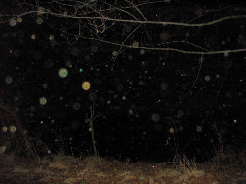 sfere luminoase in fotografie