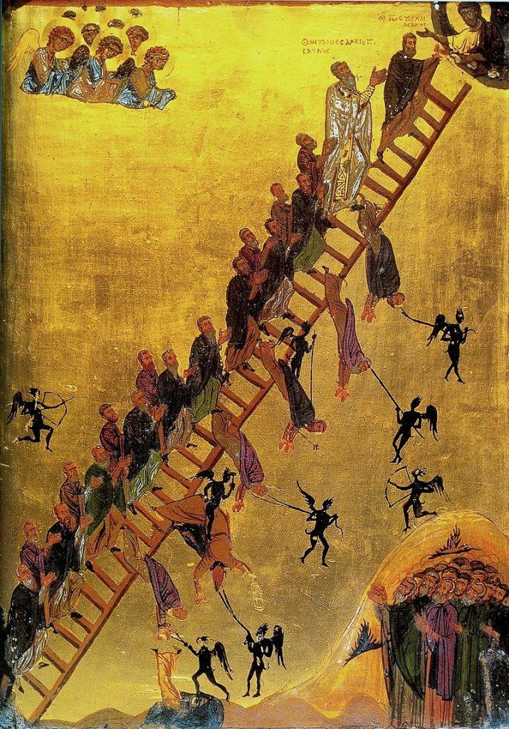 Icoana Scării Raiului de la muntele Sinai