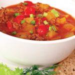 Supă de roșii cu carne