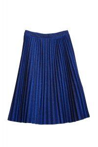 fusta-plisata-albastra-stralucitoare-129-99-ron