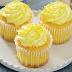 cupcakes cu lămâie