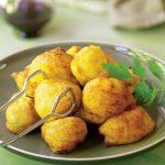 gogoși de cartofi cu usturoi
