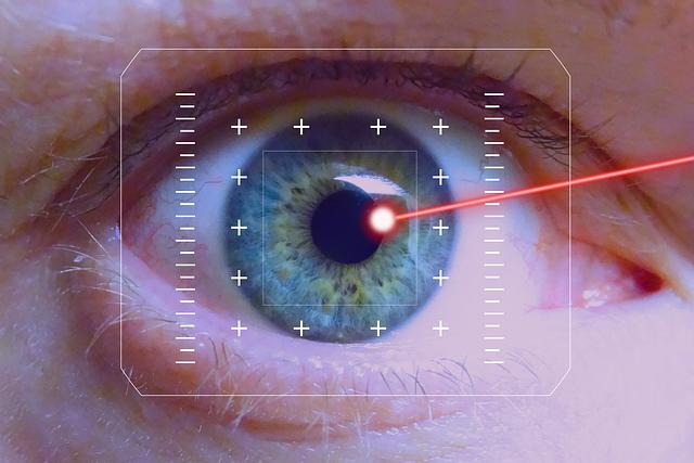 laserul este periculos pentru ochi