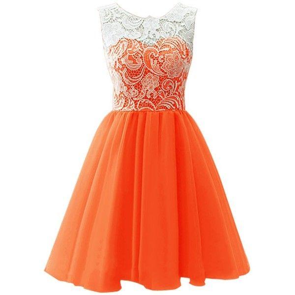 Rochia portocalie înseamnă distracție și bucurie