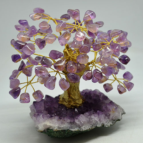copacul din cristale de ametist
