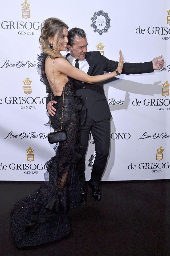 Antonio Banderas si iubita lui, Nicole Kimpel, la Festivalul de Film de la Cannes