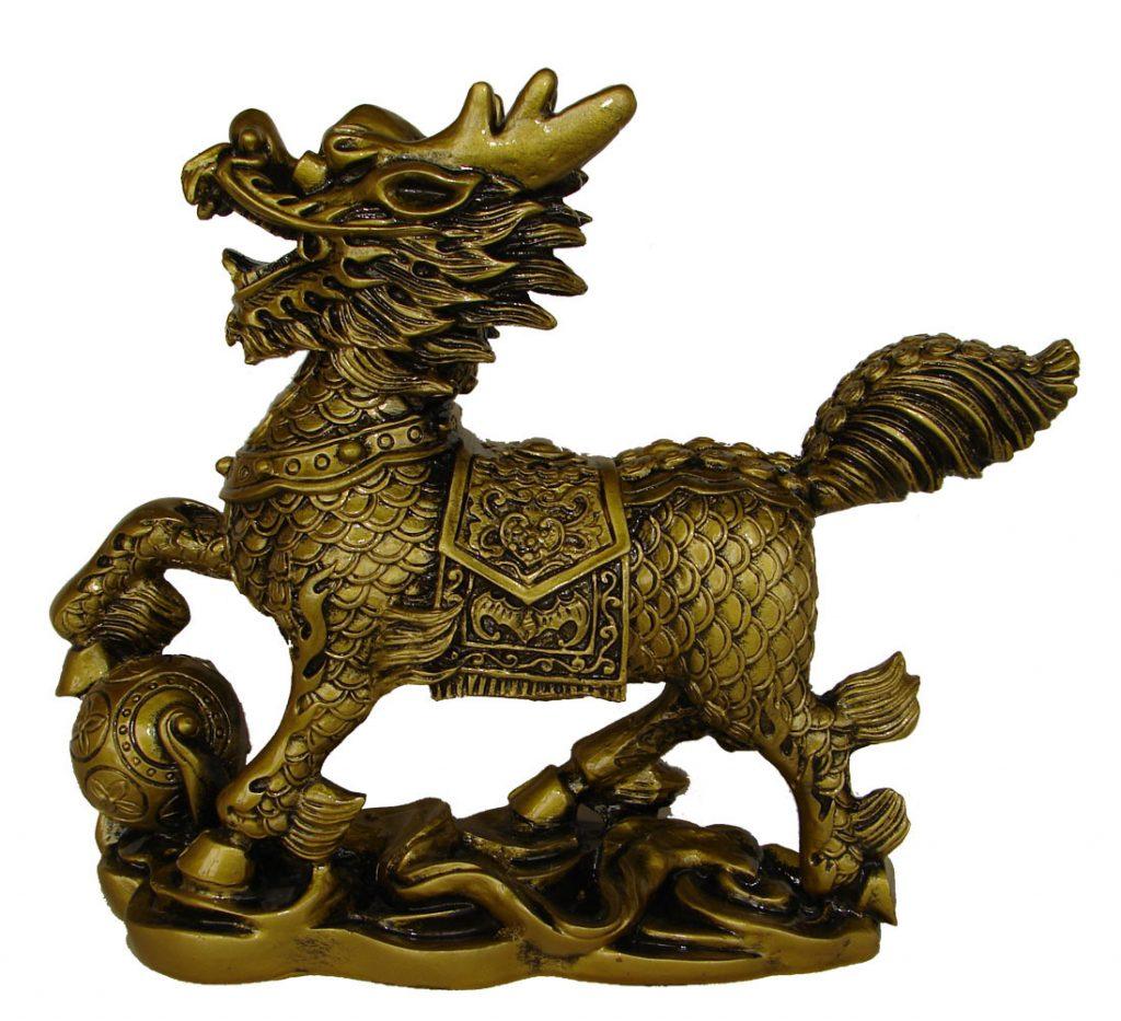 calul dragon chinezesc