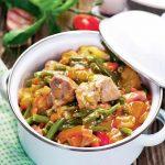 mâncare de curcan cu legume