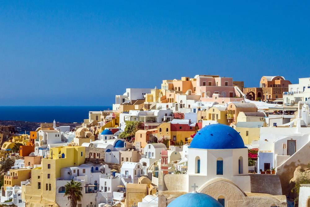 Santorini, una dintre cele mai fotogenice destinații de vacanță
