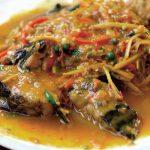 pește picant cu sos