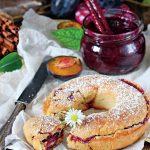 plăcintă englezească cu gem de prune