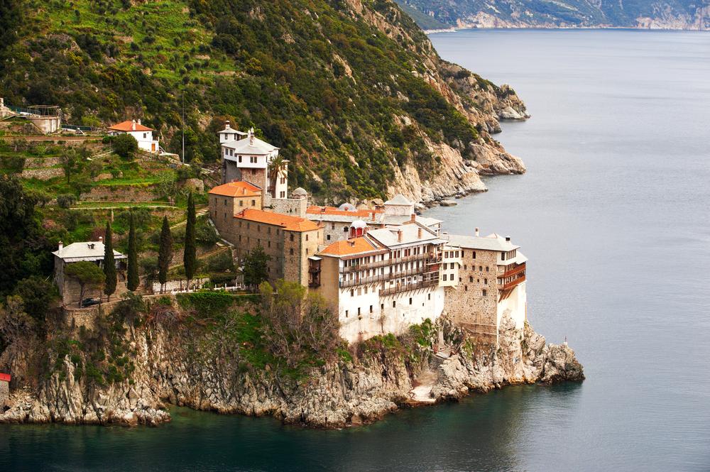 Mănăstirea Grigoriou de la Muntele Athos