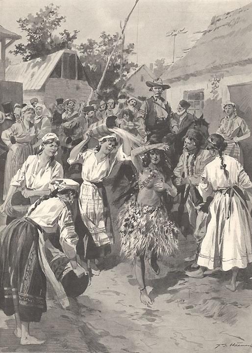 Paparuda la începutul anilor 1900
