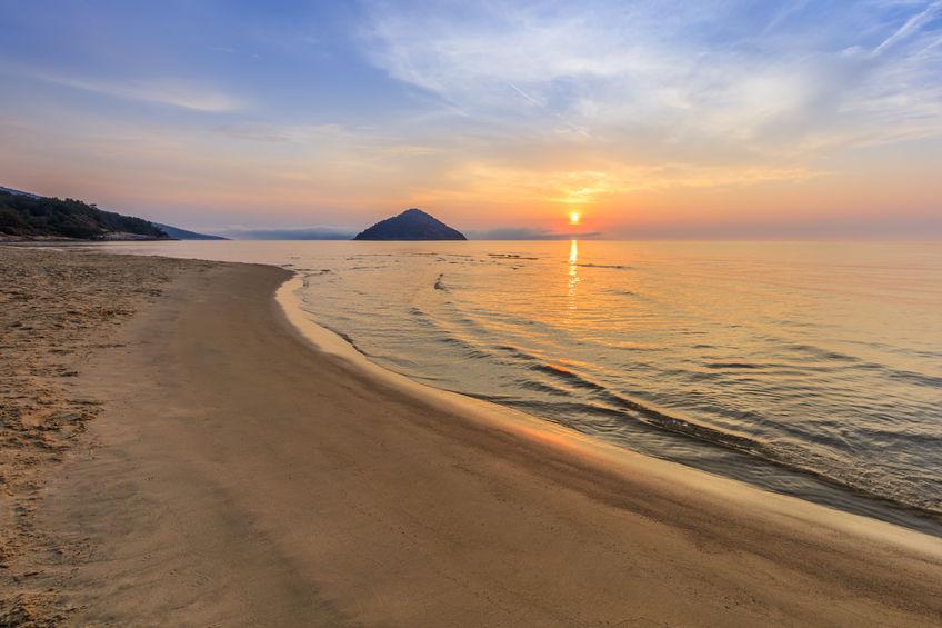 Paradise Beach, locul unde poți admira răsăritul