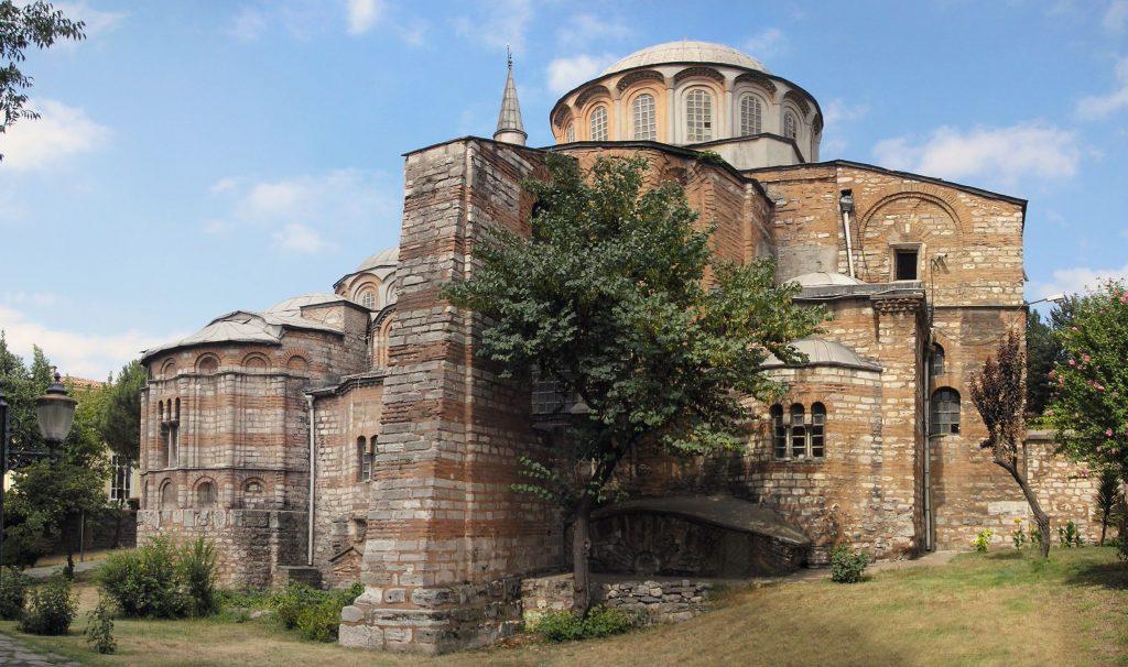 Biserica Chora din Istanbul păstrează una dintre cele mai vechi icoane reprezentând Bunavestire la fântână