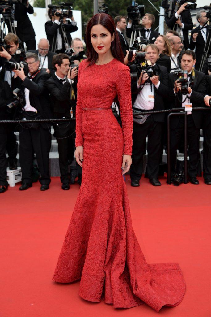 Katrina Kaif a fost invitată de multe ori la Festivalul de Film de la Cannes