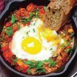 mâncare de roșii cu ouă