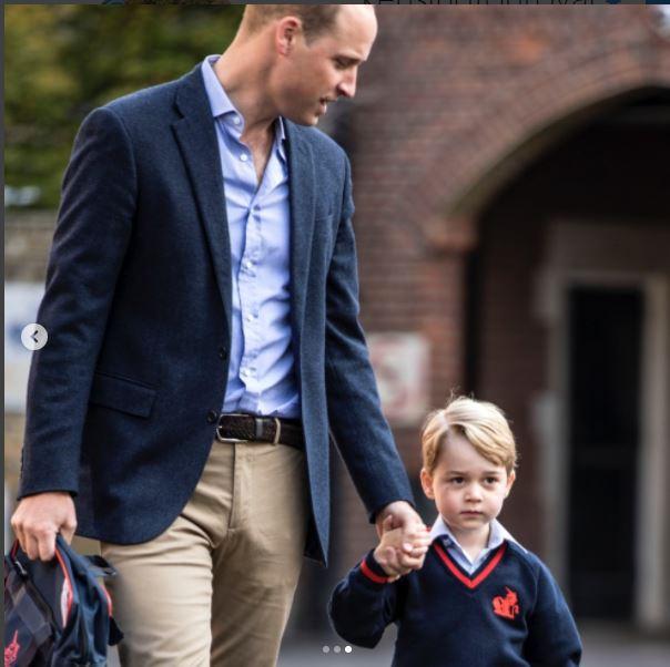 Micul prinț George, prima zi de școală. Imaginile sunt adorabile. Motivul pentru care Kate Middleton a lipsit de la acest eveniment important din viața băiețelului
