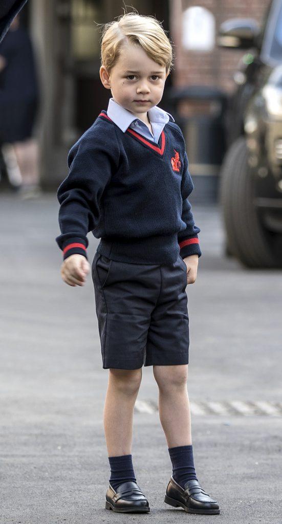 Micului prinț George i s-a interzis să facă acest lucru la școală