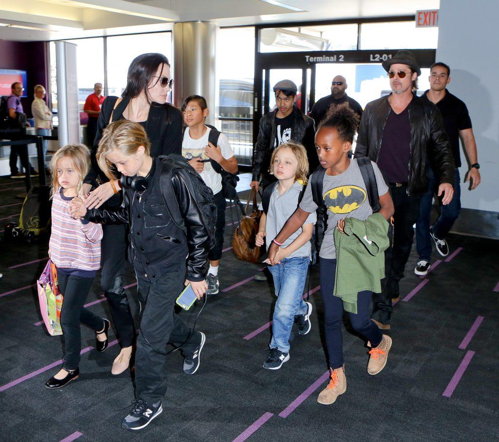 Un nou război între Brad Pitt și Angelina Jolie.