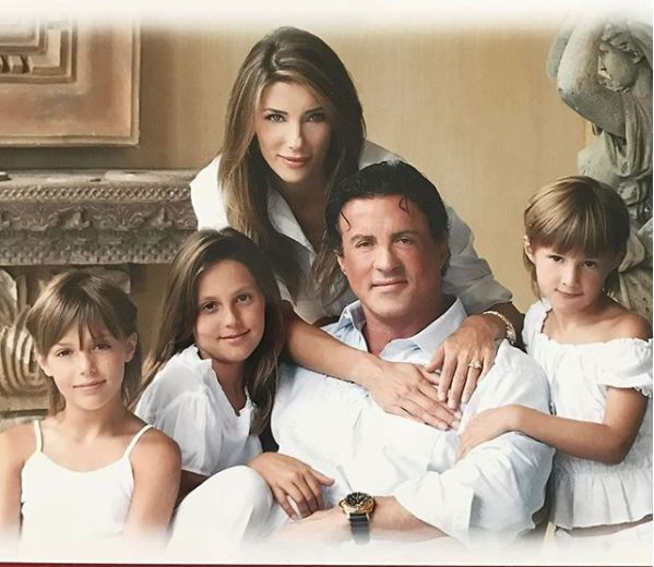 familia lui Sylvester Stallone