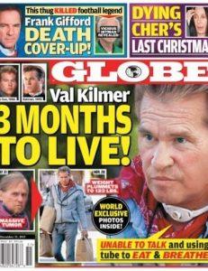 Actorul Val Kilmer mai are trei luni de trăit