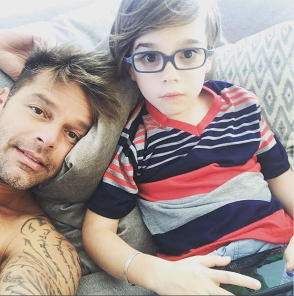 Ricky Martin a făcut publică prima poză cu fetița lui! E adorabilă!