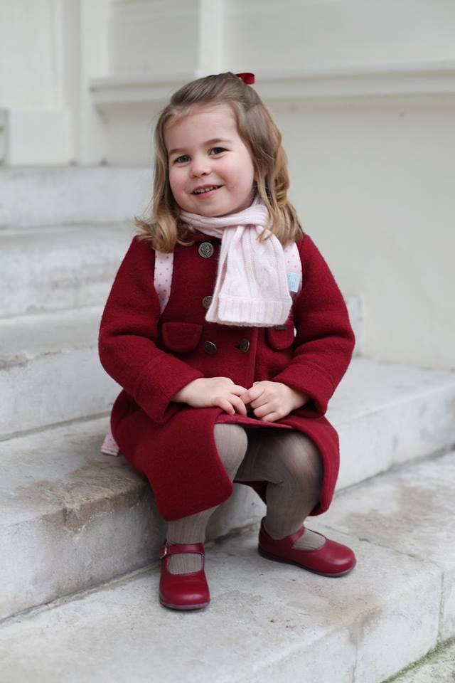 Prințesa Charlotte abia a început grădinița, dar deja a învățat o limbă străină!