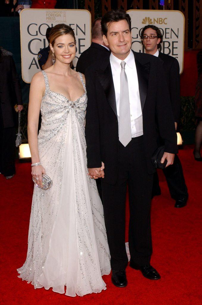 Charlie Sheen si Denise Richards