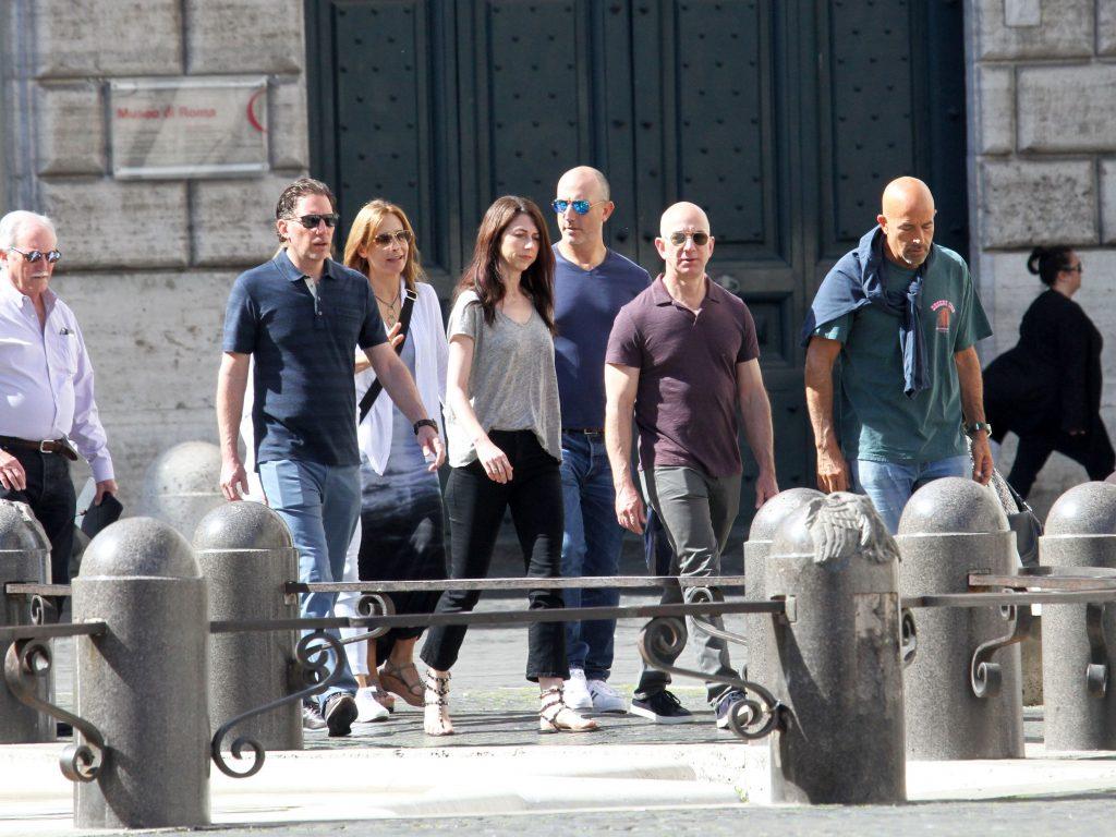 Jeff Bezos Roma familie
