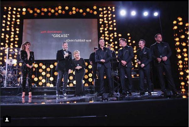 John Travolta si Olivia Newton John s-au reunit