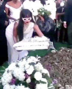Rihanna inmormantare var