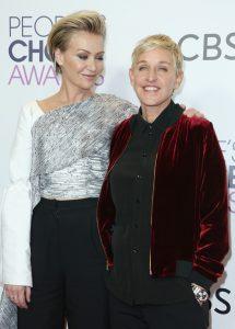Portia de Rossi și soția ei, Ellen De Generes