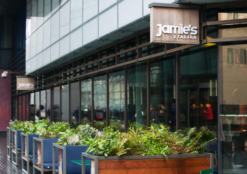 Jamie Oliver restaurante