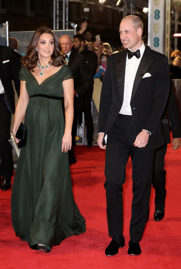 Kate Middleton printul William Bafta