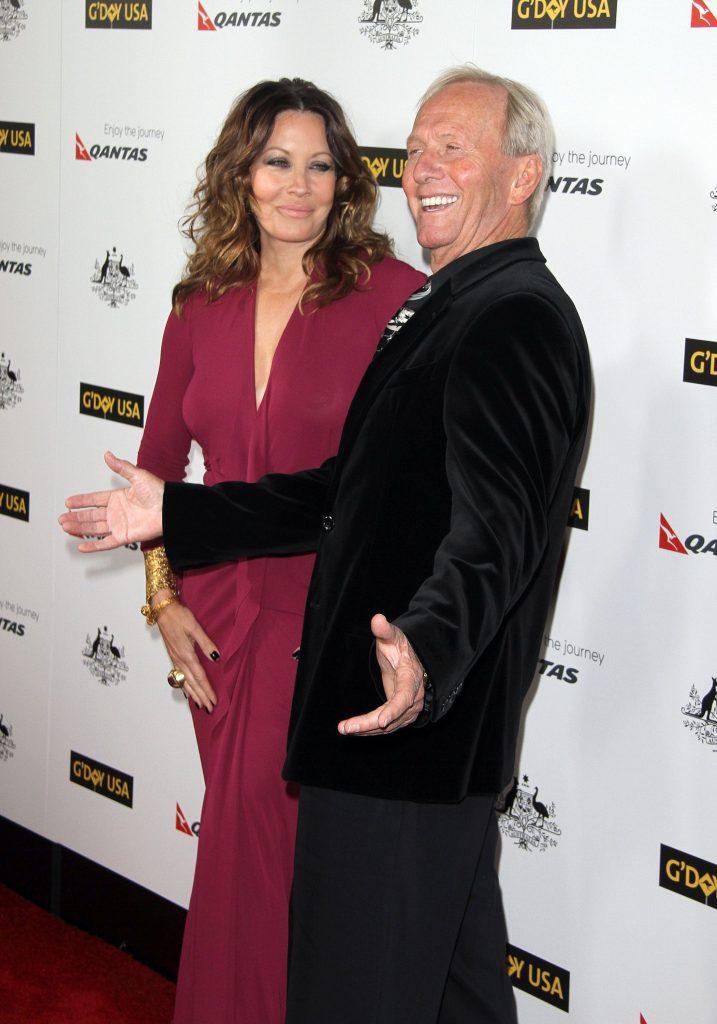 Paul Hogan si fosta sotie Linda Kozlowski