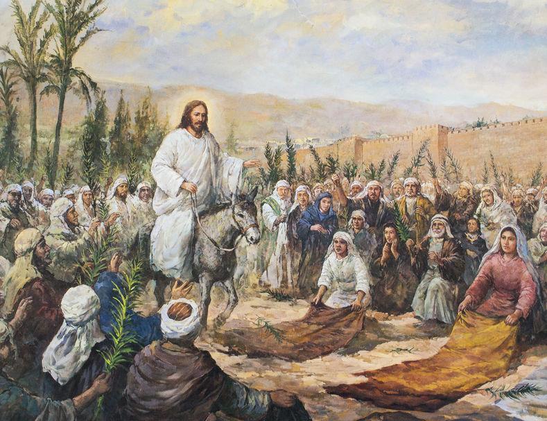 Duminica Floriilor și intrarea Domnului in Ierusalim