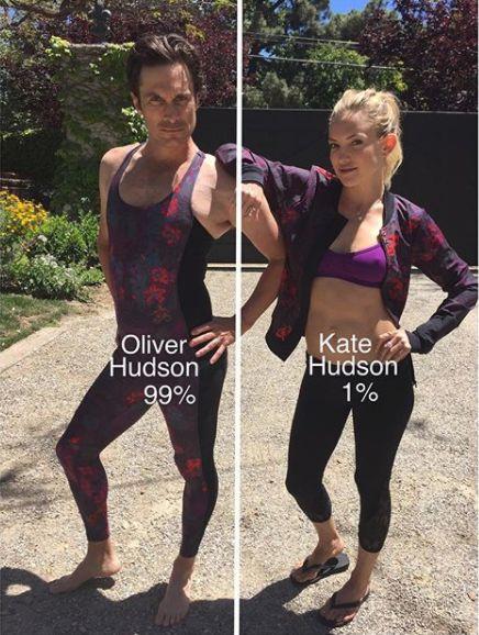 Oliver Hudson Kate Hudson