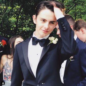 Dylan, in ziua absolvirii