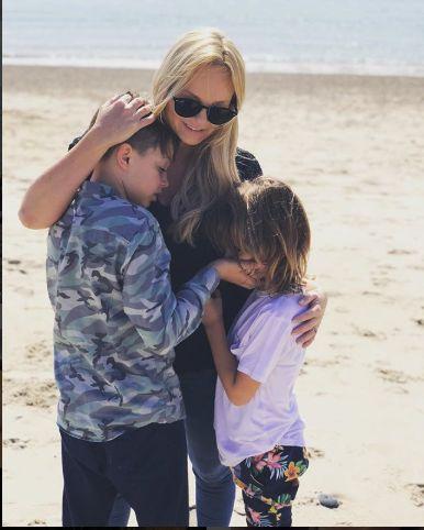 Emma Bunton si copiii ei