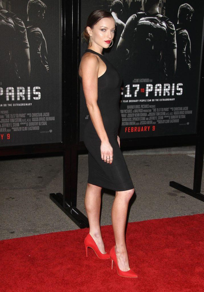 Francesca Eastwood e gravida