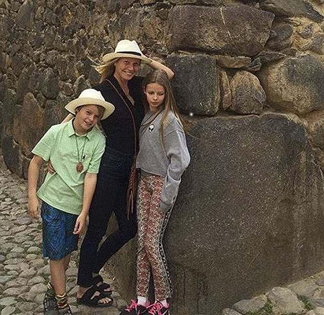 Gwyneth Patrow si copiii ei