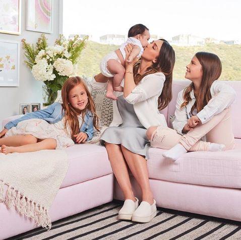 Jessica Alba si copiii ei