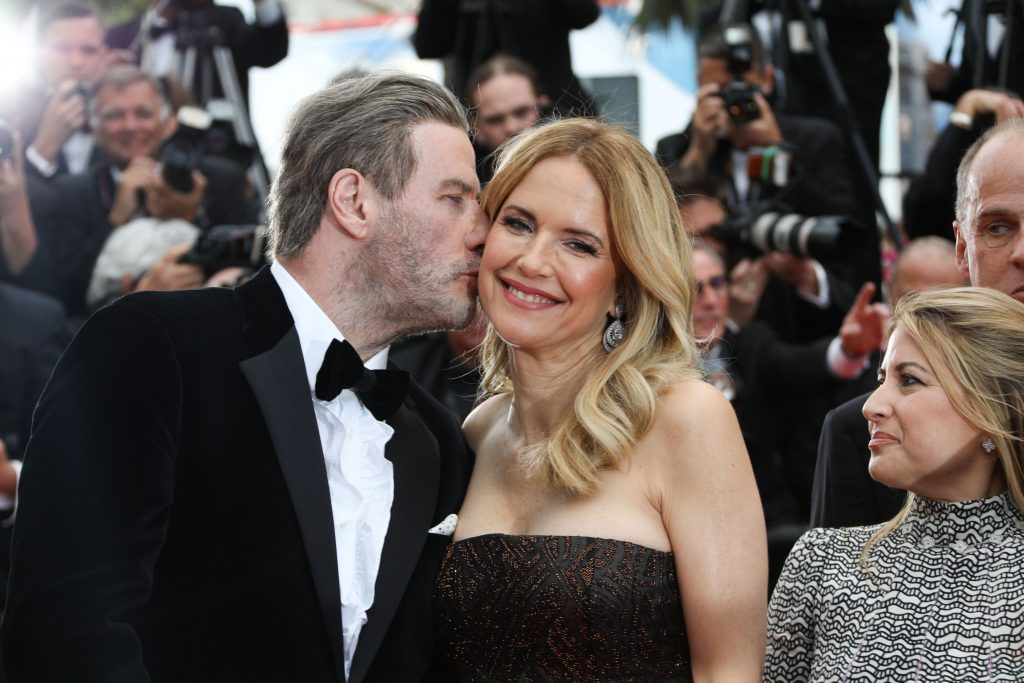John Travolta la Cannes