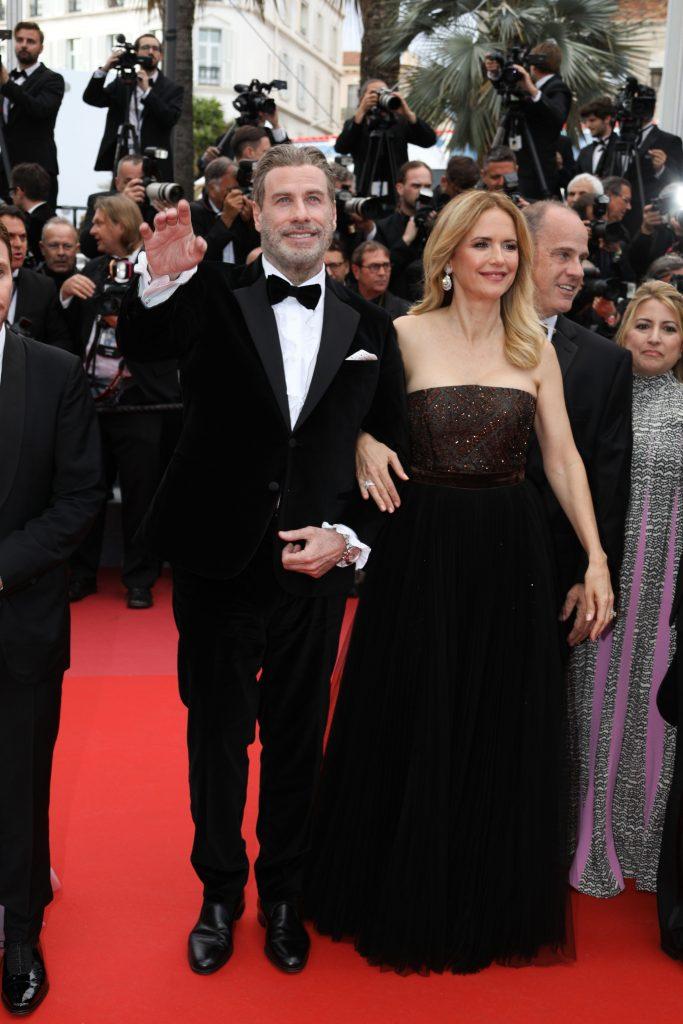 John Travolta si sotia